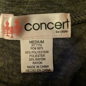 Concert By Clare Tops - Shirt